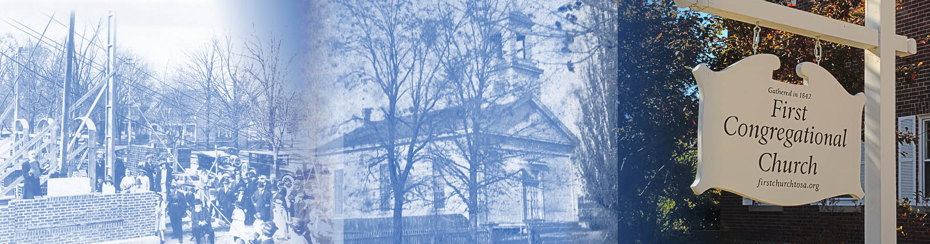 historic views of First Congregational Church