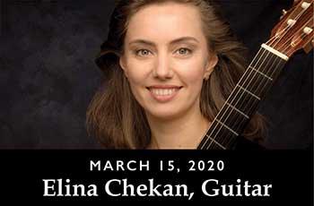 Elina Chekan guitarist